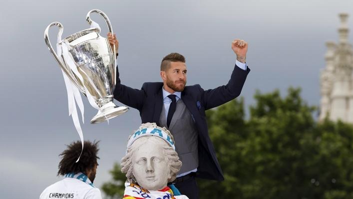 Sergio Ramos won 22 trophies during his stint at Real Madrid