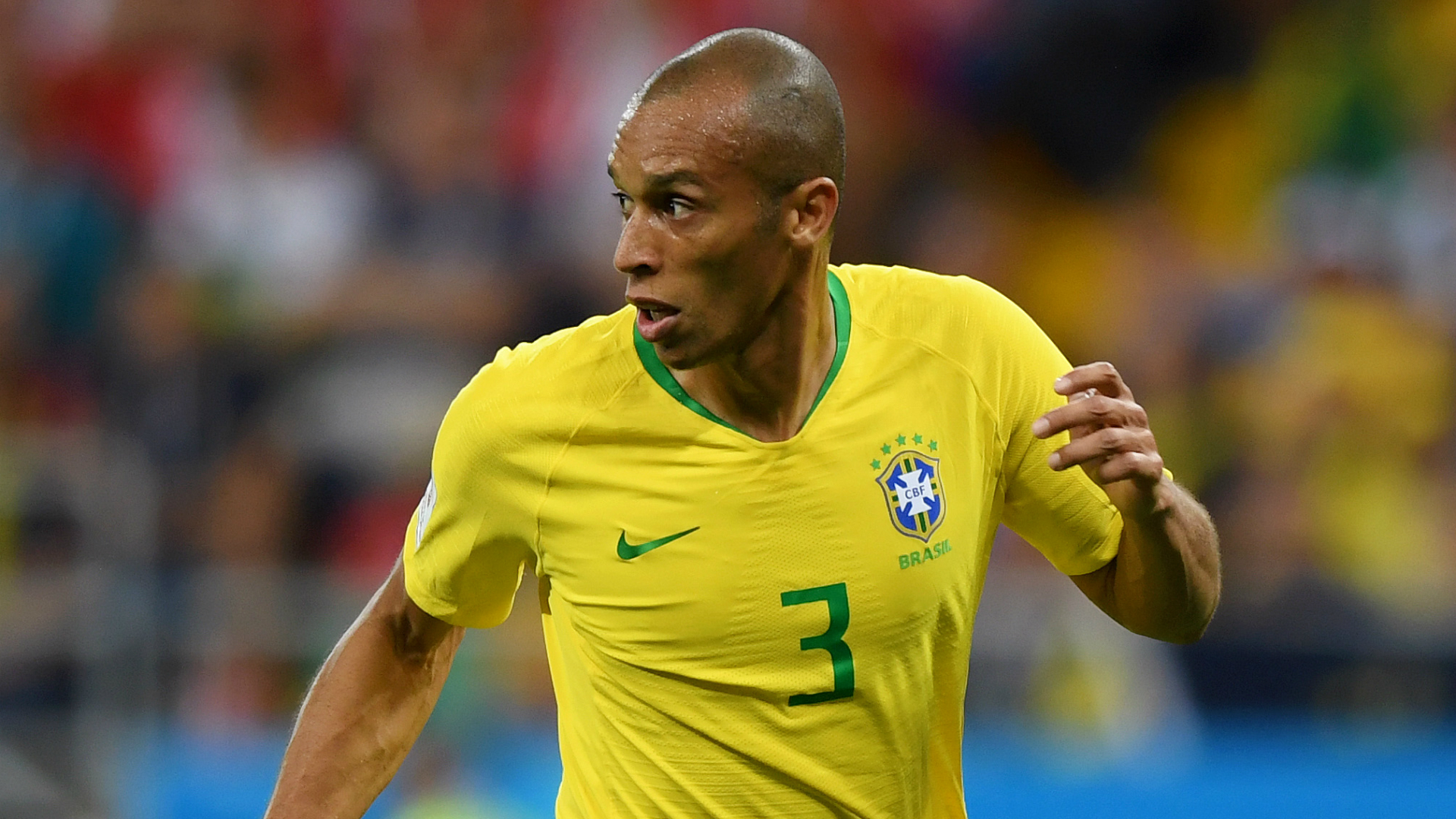 Brazil get the better of Argentina with Miranda's stoppage time header