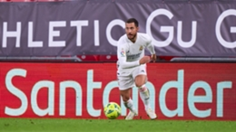Real Madrid's Eden Hazard against Athletic Bilbao
