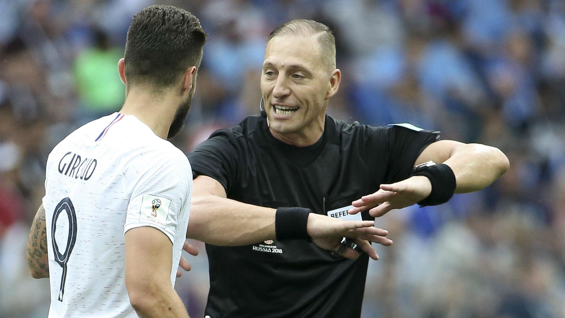 World Cup  Final Referee Nestor Pitana To Take Charge Of France Vs Croatia Goal Com