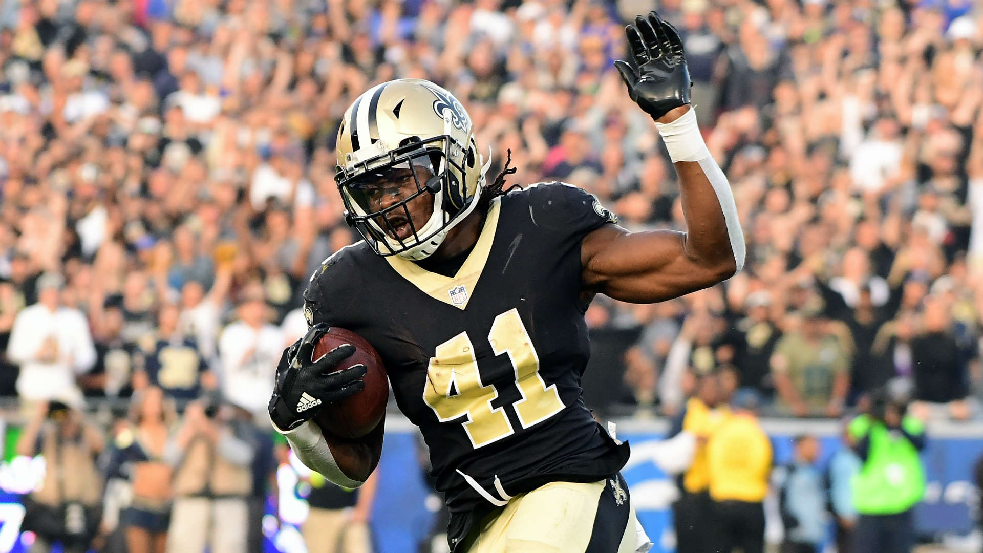 Saints Kamara Attributes Nfl Success To Matrix Mode