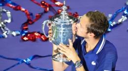 US Open champion Daniil Medvedev