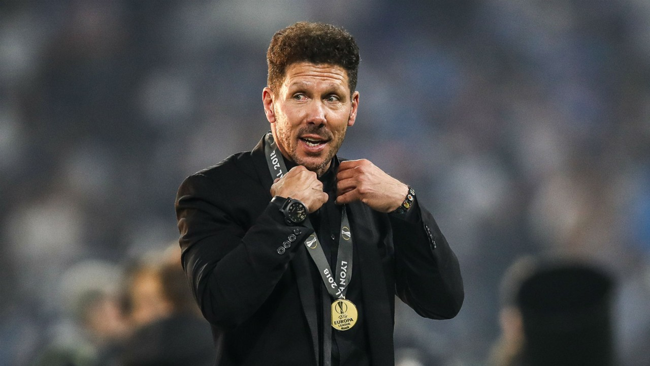 Champions League: Diego Simeone won't change after one bad Atletico result ahead of Dortmund rematch