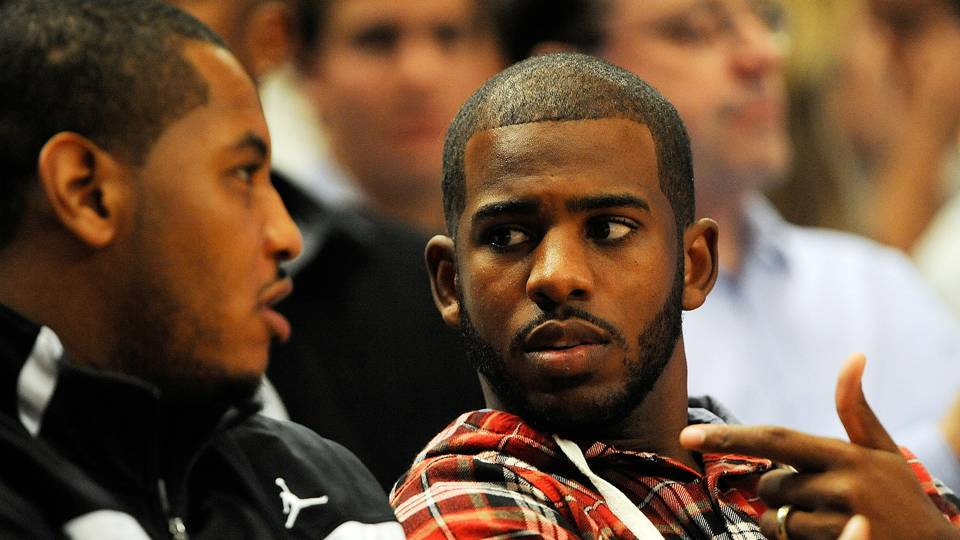 Chris Paul on Carmelo Anthony joining Rockets: 'It's always nice to play with a guy that you're that close with'