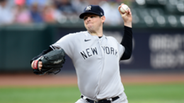 Jordan Montgomery #47 of the New York Yankees pitches in the first inning against the Baltimore Orioles at Oriole Park