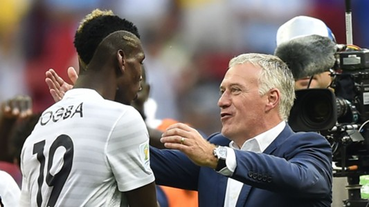 PaulPogbaDidierDeschamps - Cropped