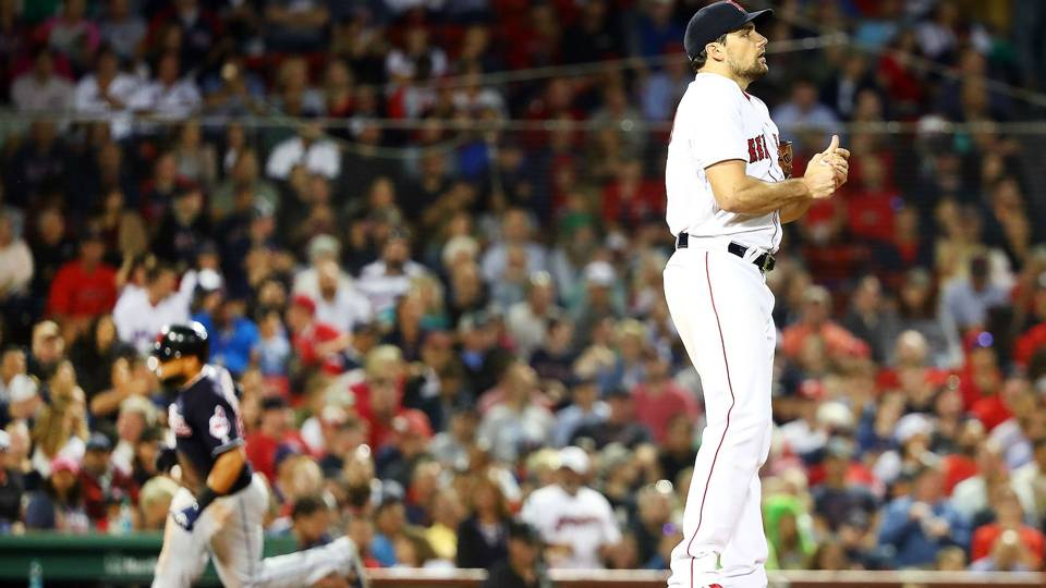 World Series 2018: Nathan Eovaldi to start Game 4; Andrew Benintendi on bench in Game 3