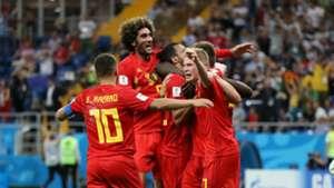 Belgium celebrate