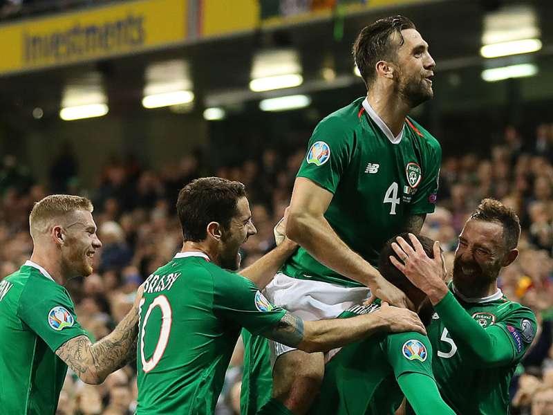 Republic of Ireland 1 Georgia 0: Hourihane marks McCarthy's Dublin return in style