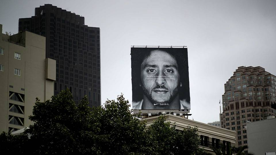 Nike 'very proud' of Colin Kaepernick ad, response to it, CEO says
