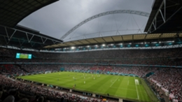 Wembley during the Euro 2020 final