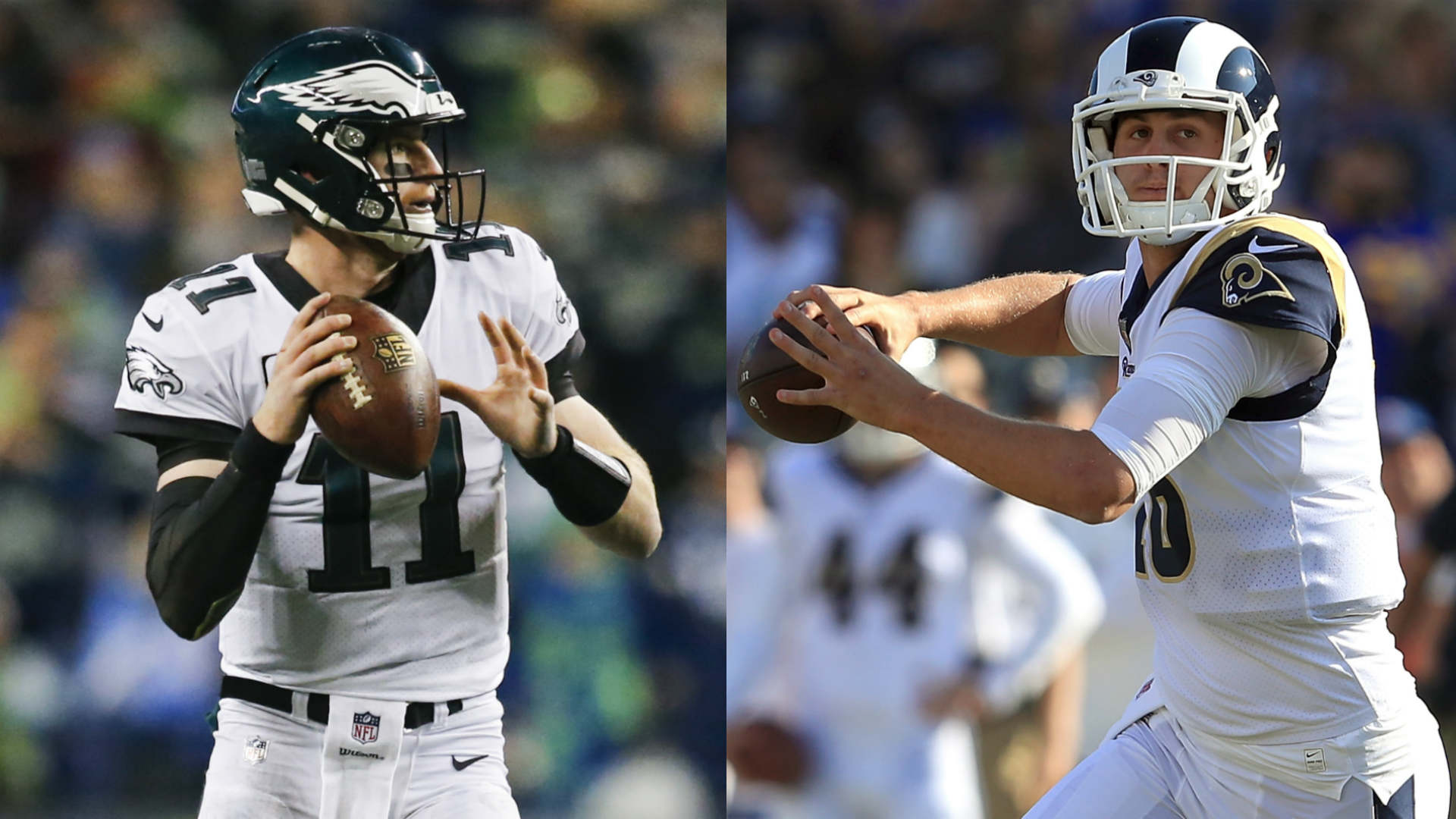 Jared Goff, Carson Wentz 'excited' to play each other for first time