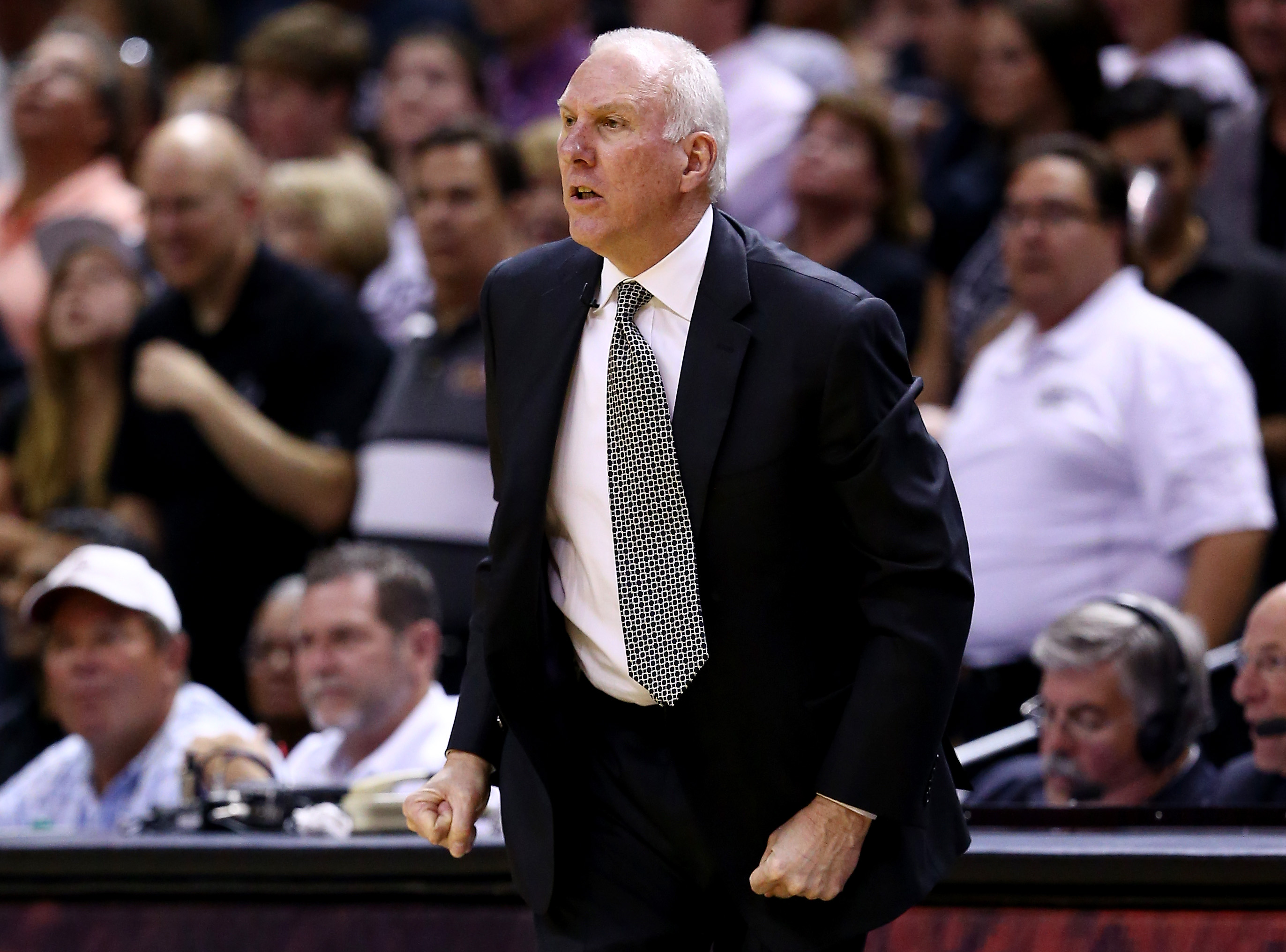 Gregg Popovich for President? Warriors' Steve Kerr, Stephen Curry on board
