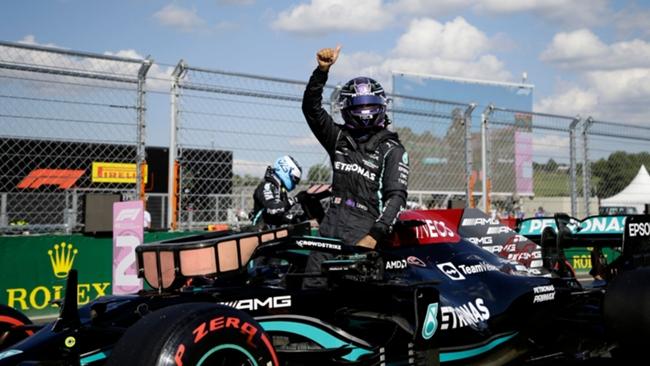 Lewis Hamilton at the Hungarian Grand Prix