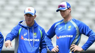 David Warner Steve Smith - cropped