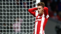 Antoine Griezmann failed to make much of an impact in Atletico Madrid's Champions League draw with Porto