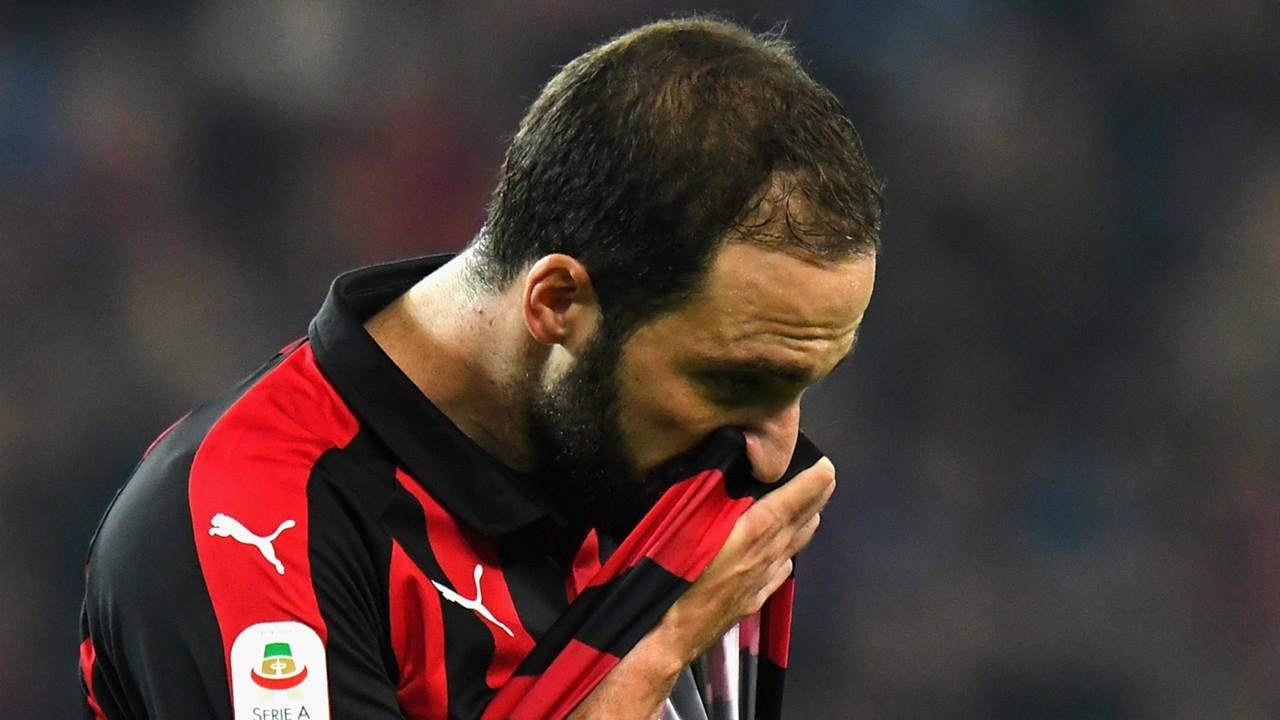 Gonzalo Higuain is feeling a lot of pressure – Gennaro Gattuso