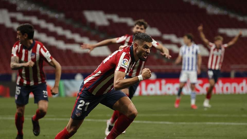 Atletico Madrid 2-1 Real Sociedad: LaLiga leaders edge closer to title