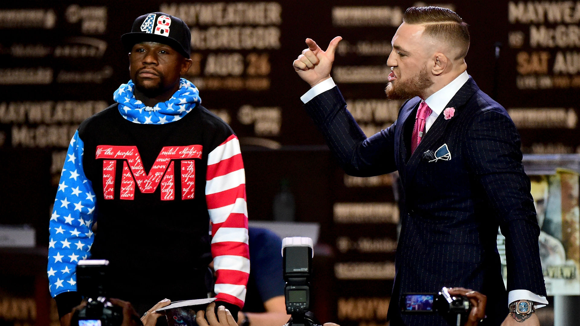 Who has most to lose in Floyd Mayweather Jr. vs. Conor McGregor?