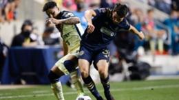Club America in action against Philadelphia Union