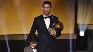 Cristiano Ronaldo Ballon d'Or - cropped