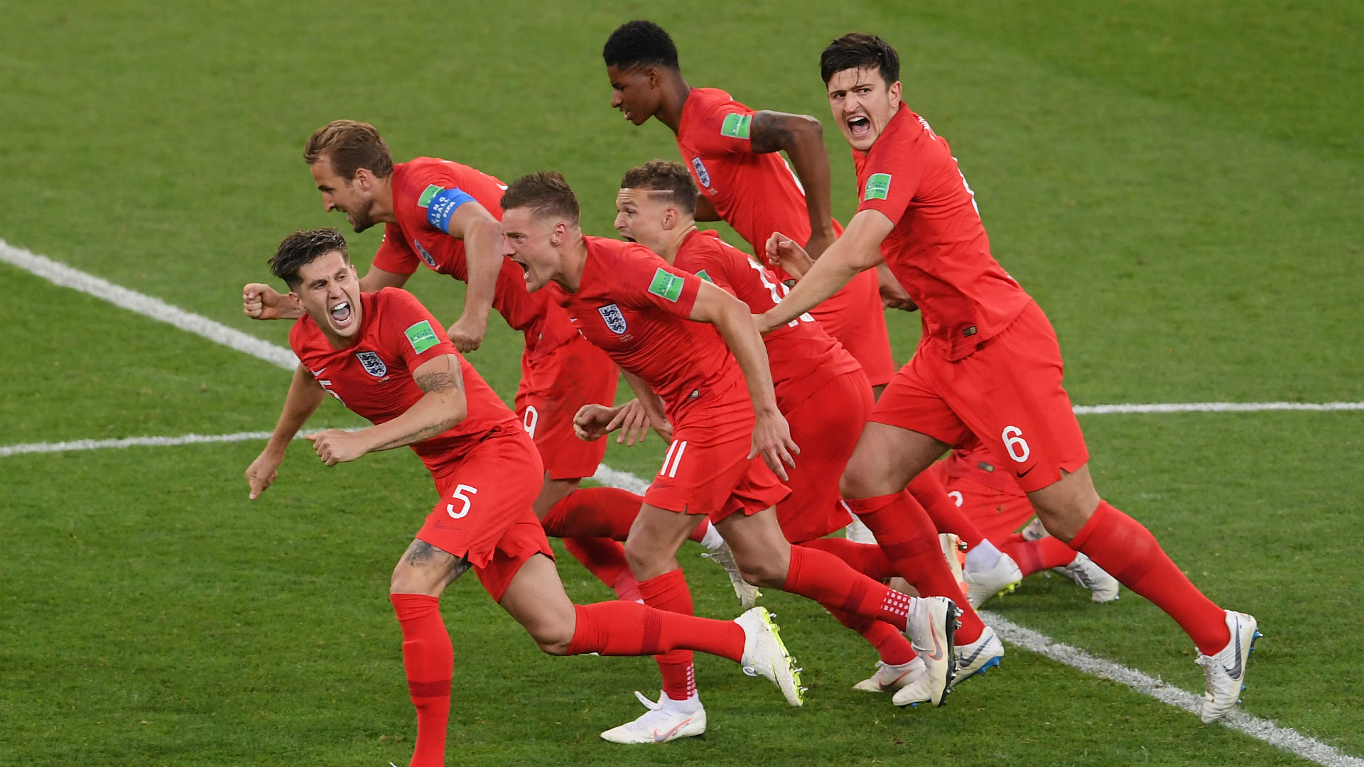 Maguire puts Three Lions in front
