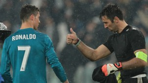 Cristiano Ronaldo and Gianluigi Buffon - cropped