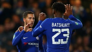 Eden Hazard and Michy Batshuayi - cropped