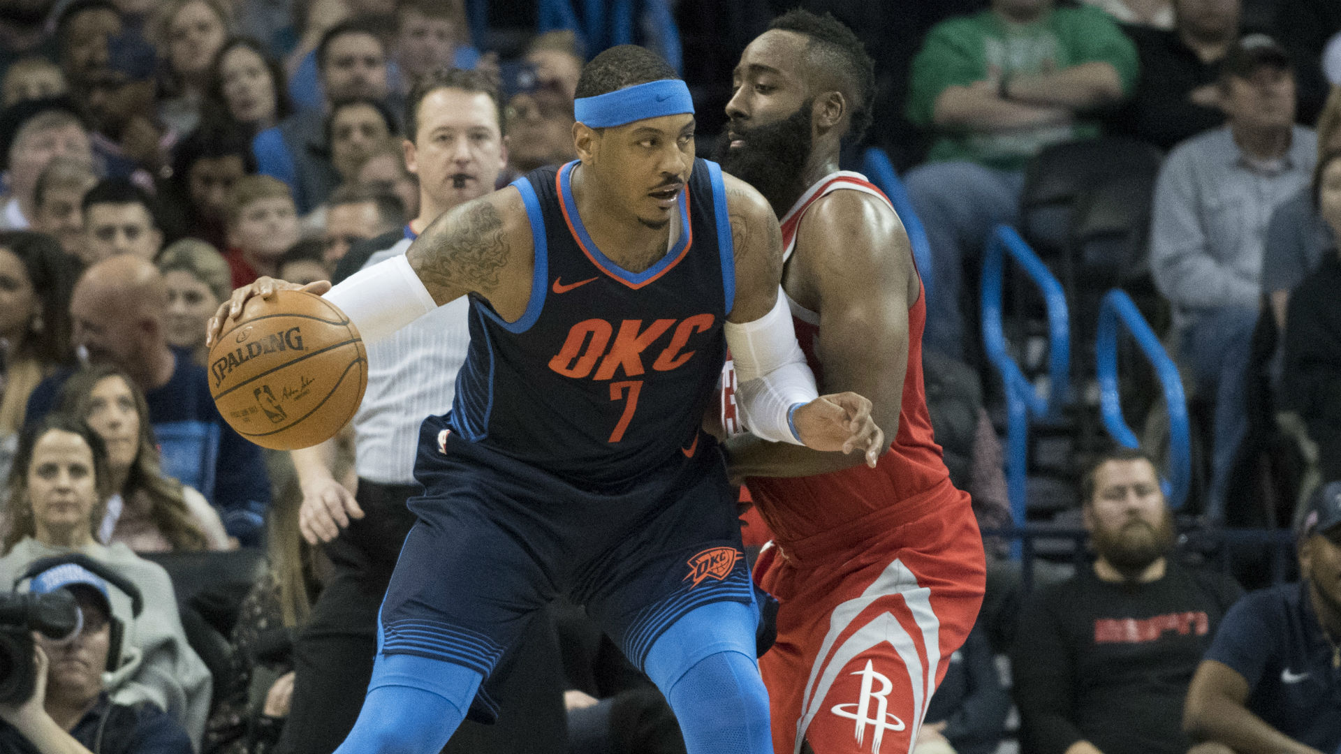 e47cbaeed9c James Harden on Carmelo Anthony joining Rockets   It s going to be easy