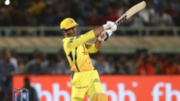 Dhoni hit 18 off six balls to book Chennai's place in the final