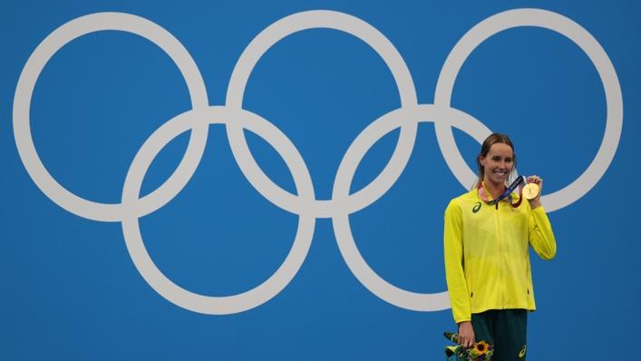 Australian swimming star Emma McKeon