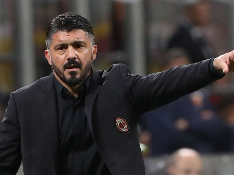 Gattuso preaches caution after last-gasp AC Milan win