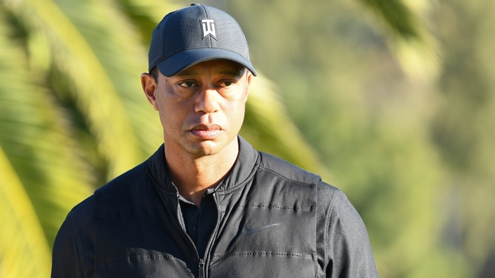 American great Tiger Woods