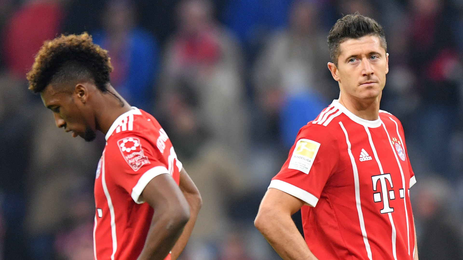 Lewandowski and Coman involved in fist-fight at Bayern Munich's training session