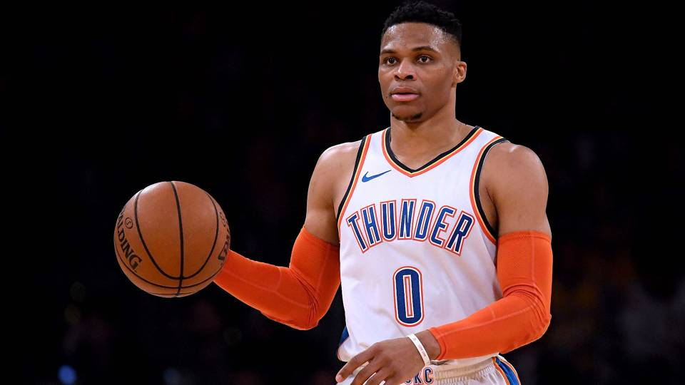 NBA wrap: Russell Westbrook makes history; Warriors stay ahead of Nuggets