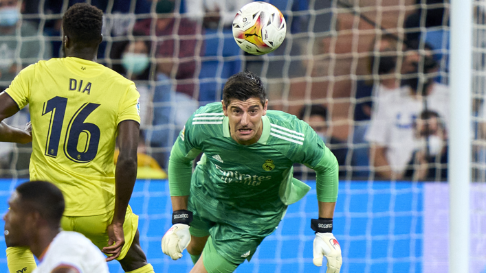 Real Madrid goalkeeper Thibaut Courtois