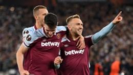 West Ham celebrate against Genk