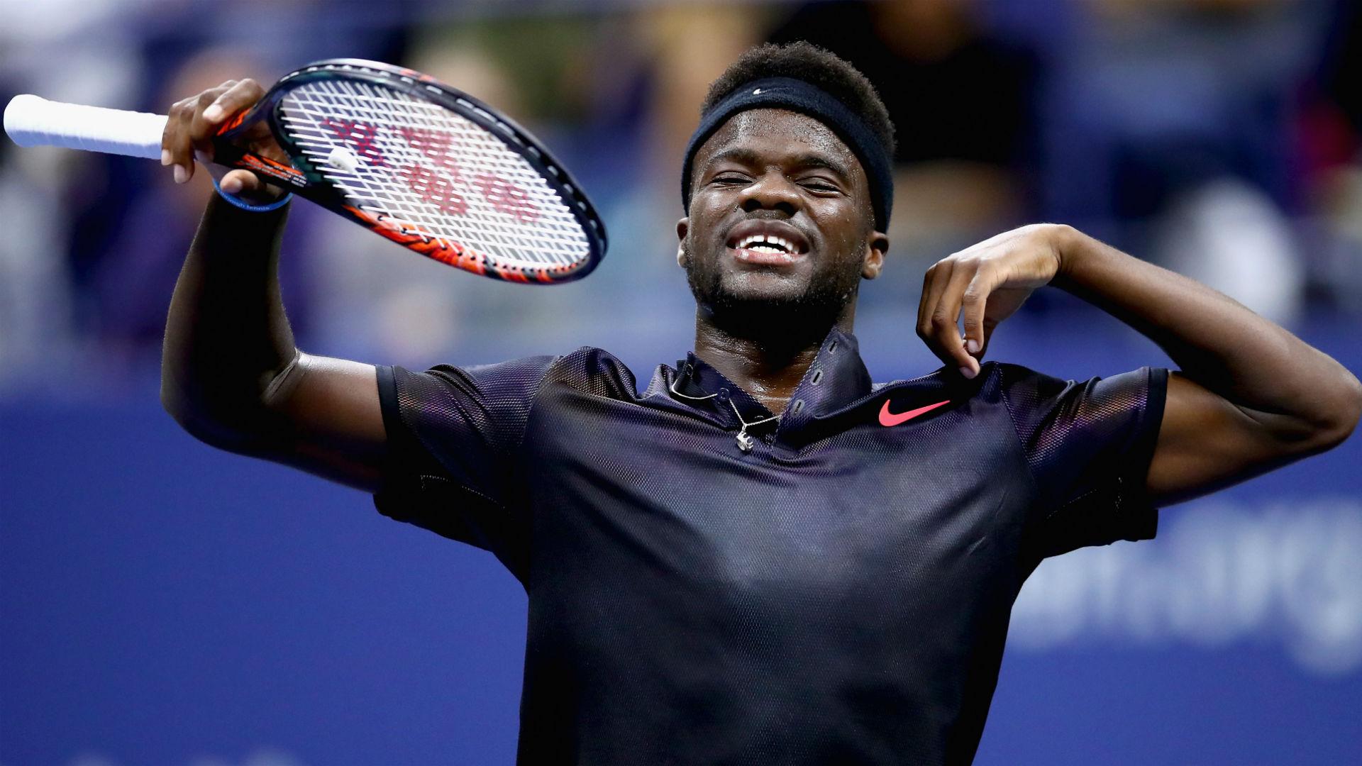 Frances Tiafoe 'proud' of performance against Roger Federer