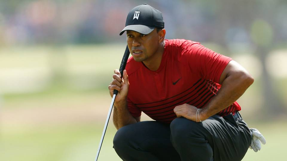 Tiger Woods changes putting stroke at Wells Fargo Championship