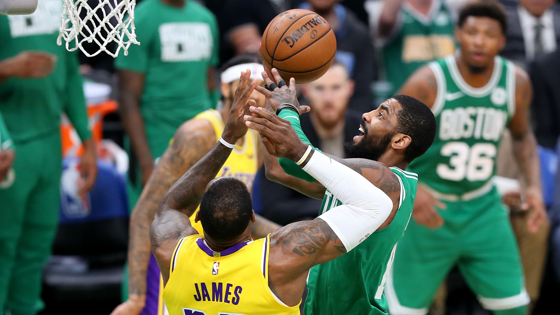 93d5cc8b68d Kyrie Irving excited by LeBron James' All-Star team | Sporting News