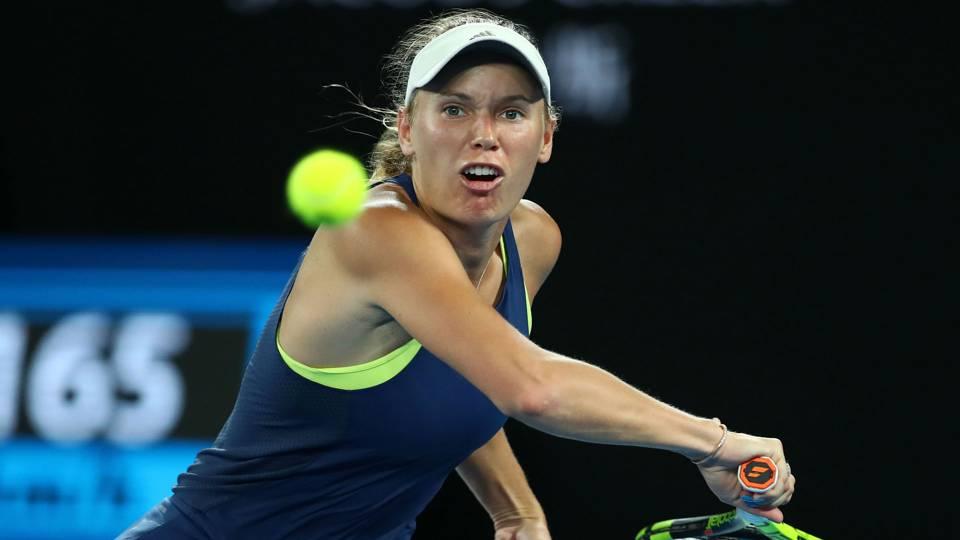 Caroline Wozniacki cruises through Qatar Open second round