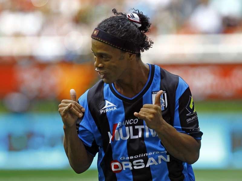 Ronaldinho Gaúcho não tem permanência garantida do Querétaro