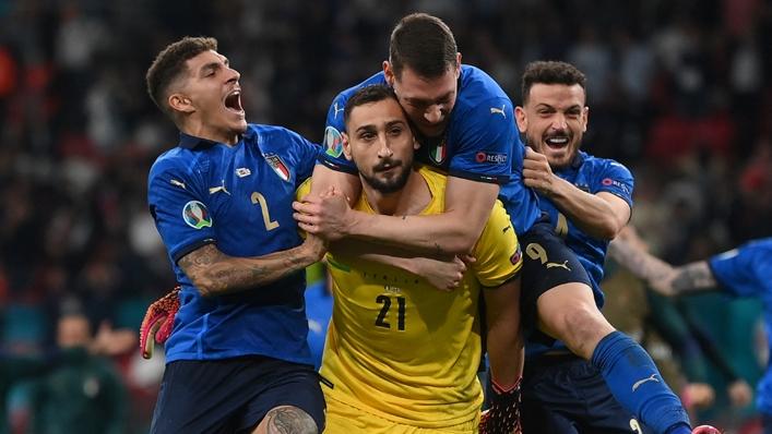 Gianluigi Donnarumma was Italy's shoot-out hero against England