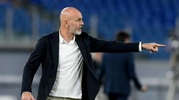 Milan head coach Stefano Pioli