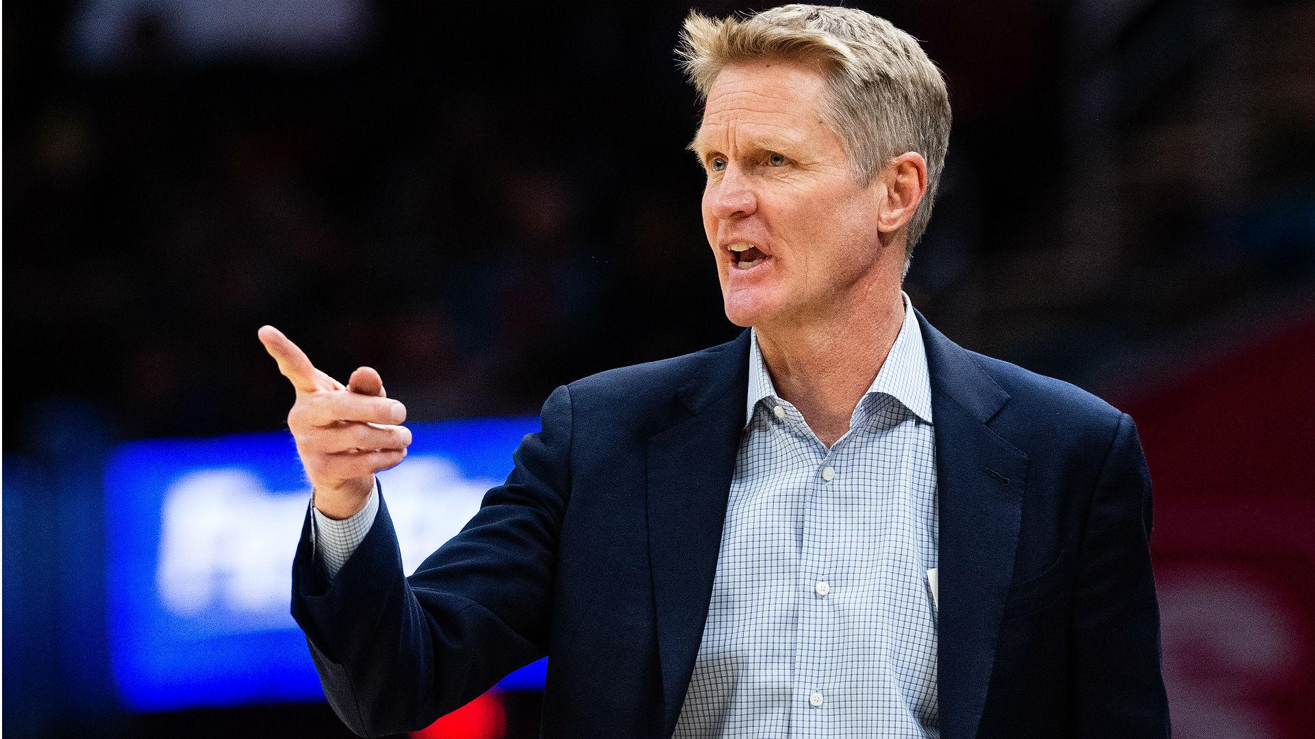 Steve Kerr calls Damian Lillard's game-winner against Thunder a 'good shot'