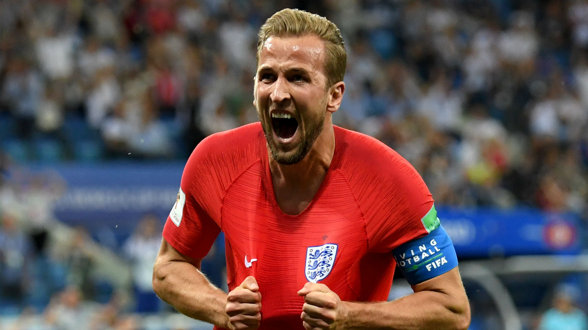 Tunisia ravaged by Harry Kane