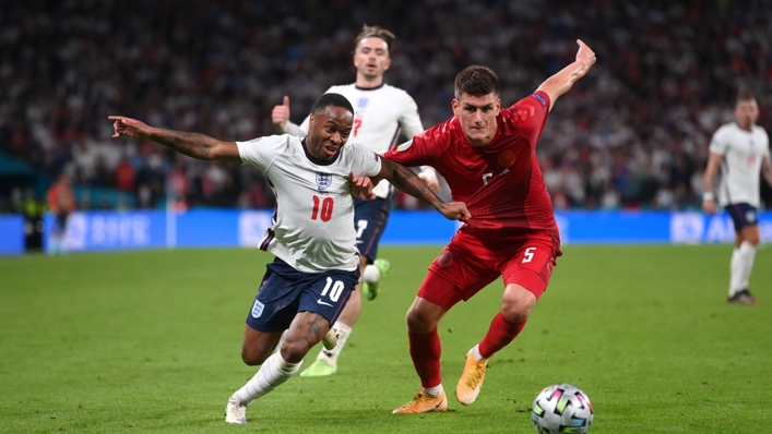 Raheem Sterling's aggressive running with the ball has been key for England