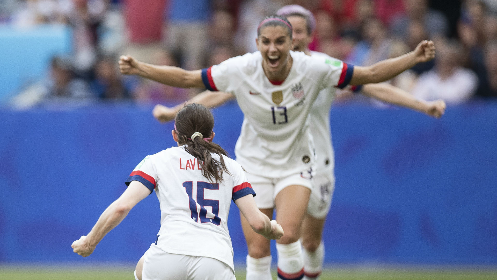 Women's World Cup 2019: USWNT returns with hardware ... and champagne ... in hand