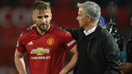 Luke Shaw and Jose Mourinho recently reignited their war of words