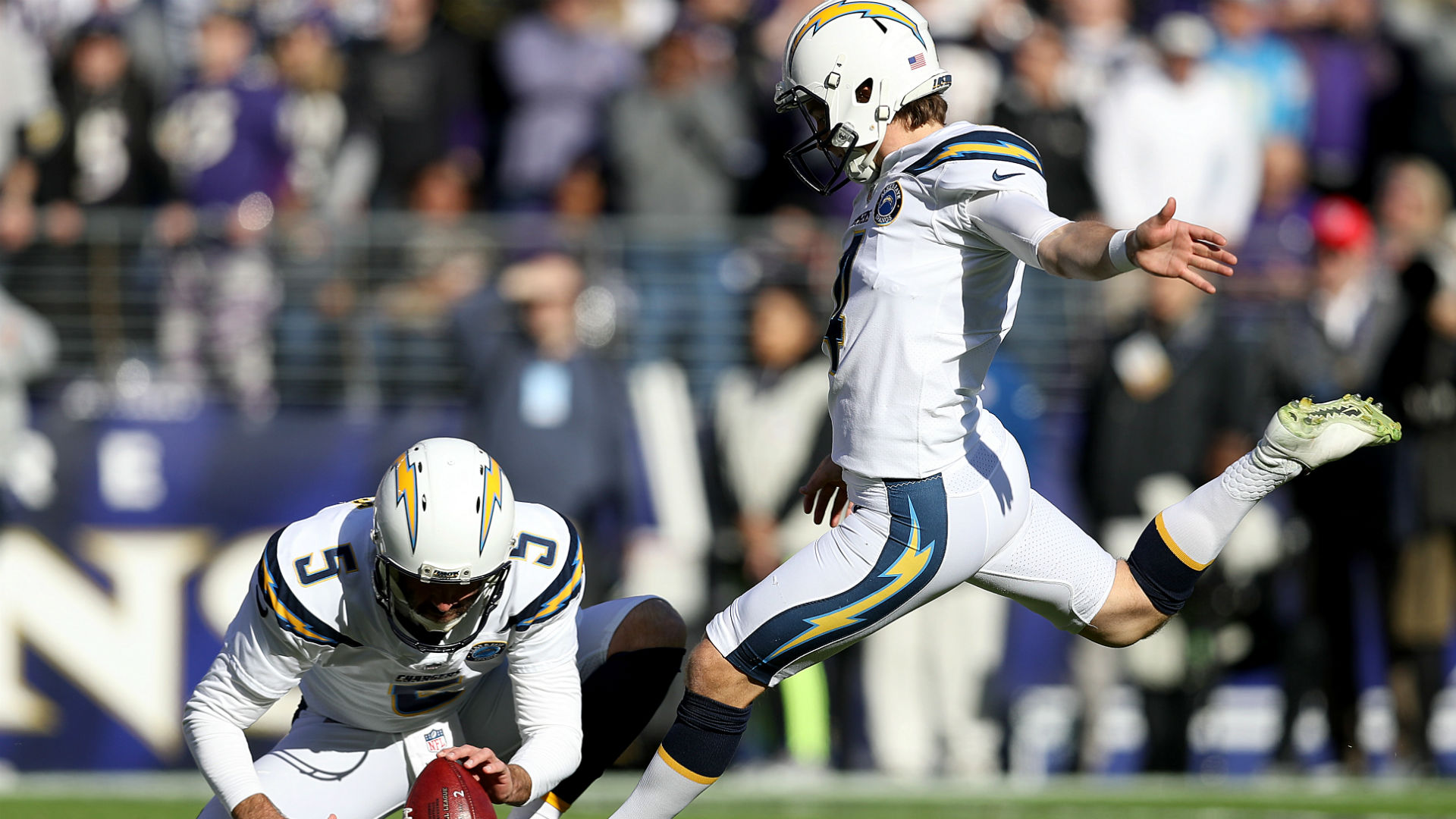 Michael Badgley injury update: Chargers kicker (groin) out vs. Colts, report says